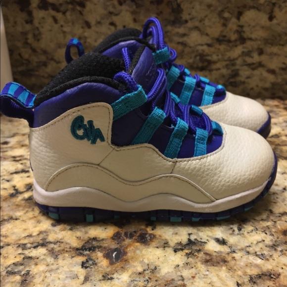Baby Jordan Retro Charlotte Shoes
